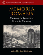 Book cover for 'Memoria Romana'