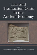 Book cover for 'Law and Transaction Costs in the Ancient Economy'