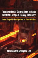 Book cover for 'Transnational Capitalism in East Central Europe's Heavy Industry'