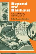 Book cover for 'Beyond the Bauhaus'