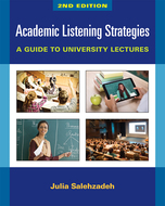 Product cover for 'Academic Listening Strategies, 2nd Edition: A Guide to University Lectures'
