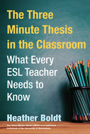Book cover for 'The Three Minute Thesis in the Classroom'