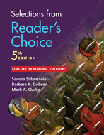 Cover image for 'Selections from Reader's Choice, 5th Edition'