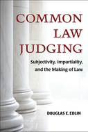 Book cover for 'Common Law Judging'