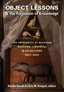Cover image for 'Object Lessons and the Formation of Knowledge'
