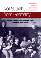 Book cover for 'Not Straight from Germany'