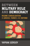 Book cover for 'Between Military Rule and Democracy'