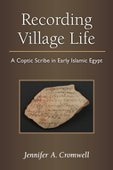Book cover for 'Recording Village Life'