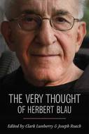 Cover image for 'The Very Thought of Herbert Blau'
