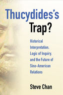 Product cover for 'Thucydides's Trap?: Historical Interpretation, Logic of Inquiry, and the Future of Sino-American Relations'