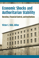 Product cover for 'Economic Shocks and Authoritarian Stability: Duration, Financial Control, and Institutions'
