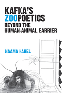 Book cover for 'Kafka's Zoopoetics'