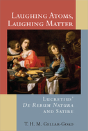Product cover for 'Laughing Atoms, Laughing Matter: Lucretius' De Rerum Natura and Satire'