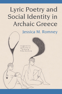 Book cover for 'Lyric Poetry and Social Identity in Archaic Greece'