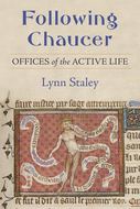 Book cover for 'Following Chaucer'