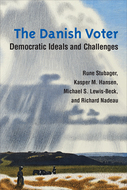 Book cover for 'The Danish Voter'
