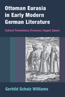 Book cover for 'Ottoman Eurasia in Early Modern German Literature'