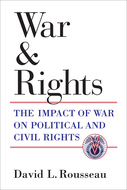 Book cover for 'War and Rights'