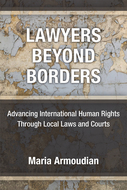 Book cover for 'Lawyers Beyond Borders'