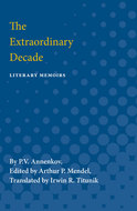 Cover image for 'The Extraordinary Decade'