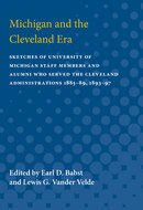 Book cover for 'Michigan and the Cleveland Era'