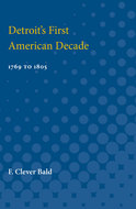 Cover image for 'Detroit's First American Decade'