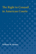 Cover image for 'The Right to Counsel in American Courts'