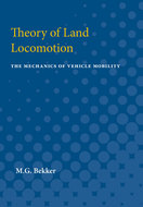 Cover image for 'Theory of Land Locomotion'
