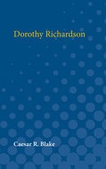 Book cover for 'Dorothy Richardson'
