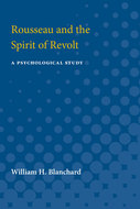 Cover image for 'Rousseau and the Spirit of Revolt'