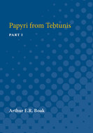 Cover image for 'Papyri from Tebtunis'