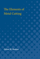 Book cover for 'The Elements of Metal Cutting'