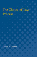 Book cover for 'The Choice-of-Law Process'