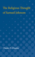 Cover image for 'The Religious Thought of Samuel Johnson'