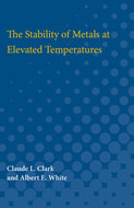 Cover image for 'The Stability of Metals at Elevated Temperatures'