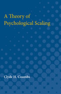 Cover image for 'A Theory of Psychological Scaling'