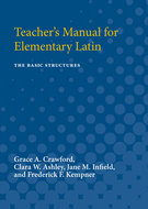 Cover image for 'Teacher's Manual for Elementary Latin'