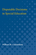 Cover image for 'Disputable Decisions in Special Education'