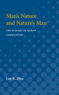 Cover image for 'Man's Nature and Nature's Man'