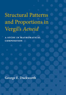 Cover image for 'Structural Patterns and Proportions in Vergil's Aeneid'