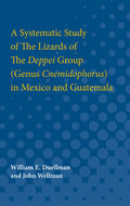 Cover image for 'A Systematic Study of The Lizards of The Deppei Group (Genus Cnemidophorus) in Mexico and Guatemala'