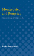 Cover image for 'Montesquieu and Rousseau'