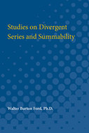 Cover image for 'Studies on Divergent Series and Summability'