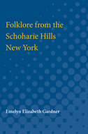 Book cover for 'Folklore from the Schoharie Hills, New York'