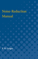 Cover image for 'Noise-Reduction Manual'