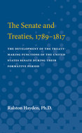 Cover image for 'The Senate and Treaties, 1789-1817'