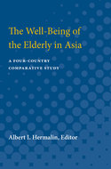 Book cover for 'The Well-Being of the Elderly in Asia'