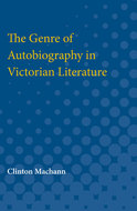 Cover image for 'The Genre of Autobiography in Victorian Literature'