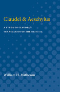 Book cover for 'Claudel & Aeschylus'