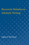 Cover image for 'Recurrent Maladies in Scholarly Writing'